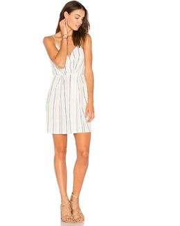 Surplice Drape Front Dress