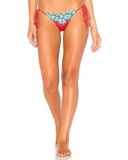 Boho Side Tie Bikini Bottom