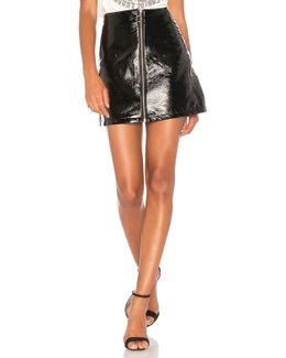 Sophie Patent Leather Skirt