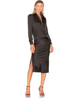 Bias Shirt & Skirt Dress
