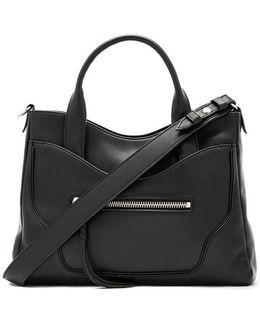 Andie Leather Satchel Bag