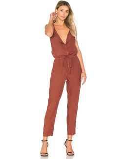 French Linen Jumpsuit