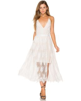 Matchpoint Midi Lace Dress