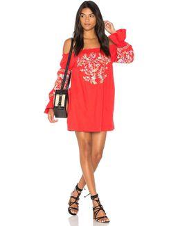Fleur Du Jour Mini Dress