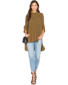 Spin Around Poncho Top