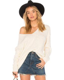 Lofty V-neck Pullover Sweater