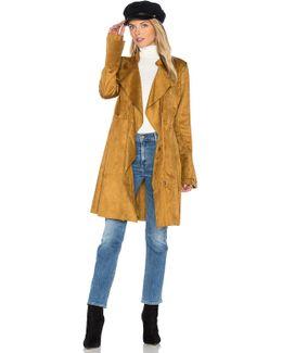 Faux Suede Meadow Jacket