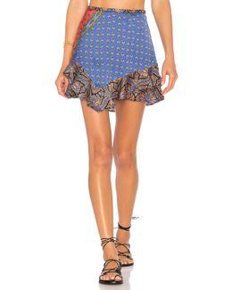 Dance This Way Printed Skirt