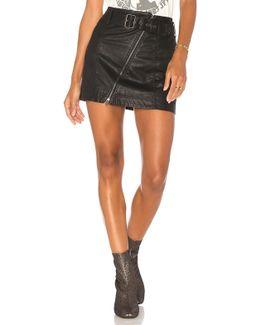 Feelin Fresh Vegan Mini Skirt