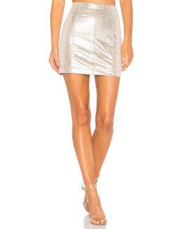 New Modern Femme Vegan Mini Skirt