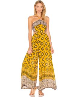 Maribelle Printed Halter Neck Jumpsuit