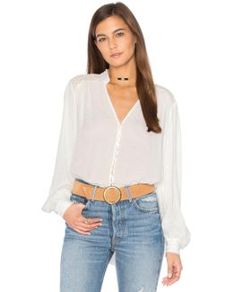Canyon Rose Button Down Top