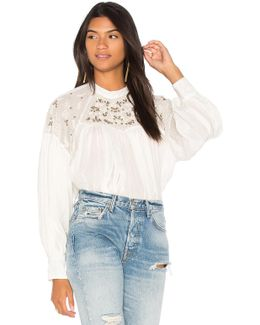 Have It My Way Embroidered Top