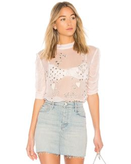 So In Love Embroidered Blouse