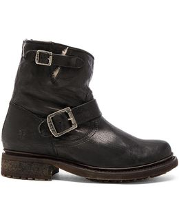 Valerie 6 Buckled Leather Boots