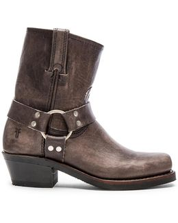 Harness Leather Ankle Boots