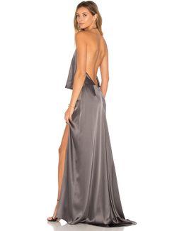 Halter Low Back Dress