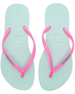 Slim Logo Pop Up Flip Flops