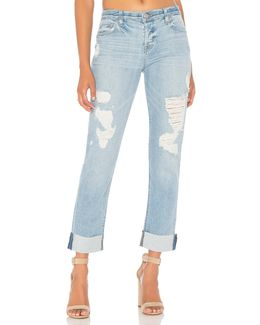 Riley Crop Relaxed Straight