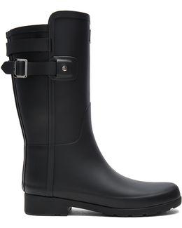Original Refined Back Strap Short Boot