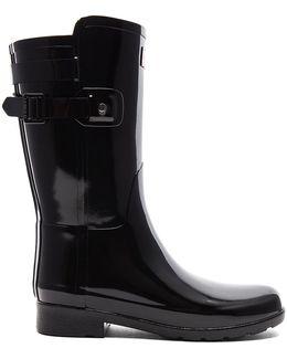 Original Refined Back Strap Short Gloss Boot