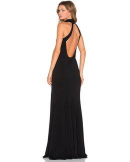 Cameo Stretch-Crepe Dress