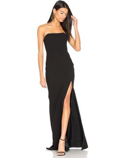Strapless Gown