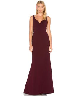 Sweetheart Neck Gown