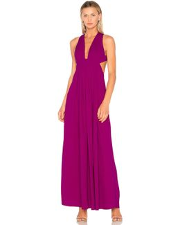 Empire Cut Out Gown