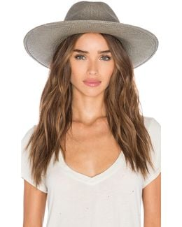 Angelica Wide Brimmed Panama Hat