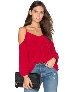 Eclipse Cold Shoulder Blouse
