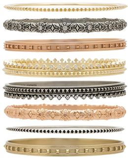 Evie Bangle Set Of 8