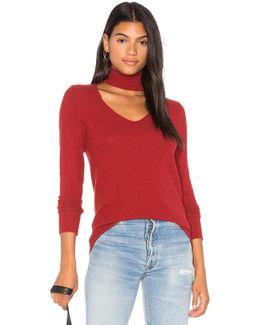 Brushed Detached Turtleneck Sweater