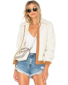 X Revolve Simone Faux Fur Jacket