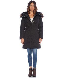 Kerry Jacket With Raccoon Fur
