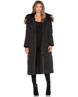 Jada Jacket With Asiatic Raccoon And Sheepskin