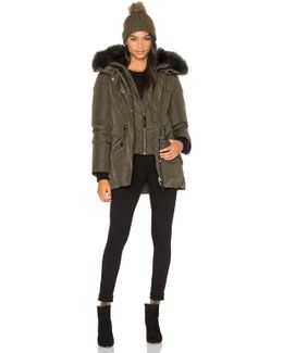 Katryn Asiatic Raccoon Fur Coat