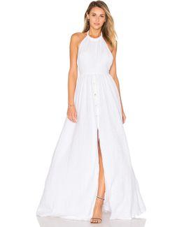 Organic Cotton Backless Dress