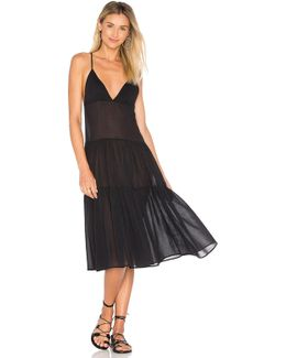 Tiered Ankle Dress