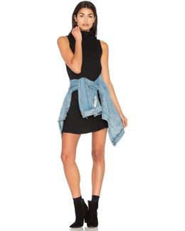 Sleeveless Cowl Shift Dress