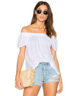 Luxe Off Shoulder Tee