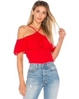 Off The Shoulder Flounce Top