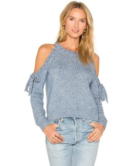 Tie Shoulder Sweater