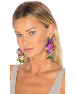 Fiesta Flor Tropical Earrings