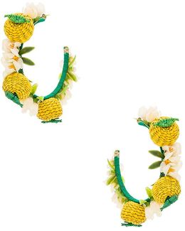 Limones Y Flores Earrings