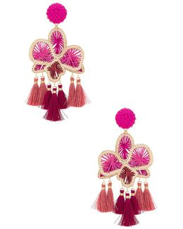 Orquidea Rosa Earrings