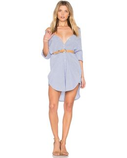 Clean Summer Long Shirt Dress
