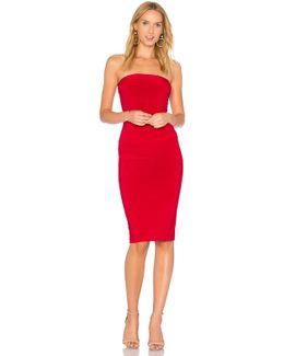 Strapless Dress To Knee Dress