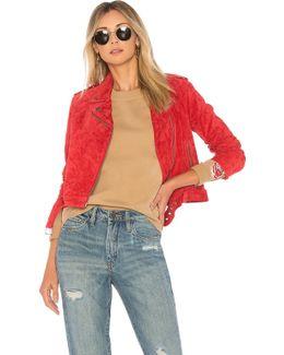 X Debbie Harry St. Mark Moto Jacket