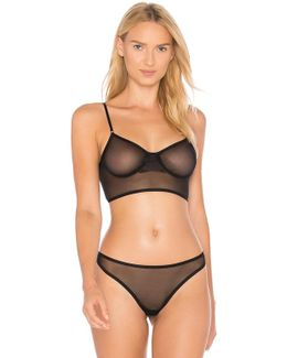 Whisper Cropped Underwire Bra